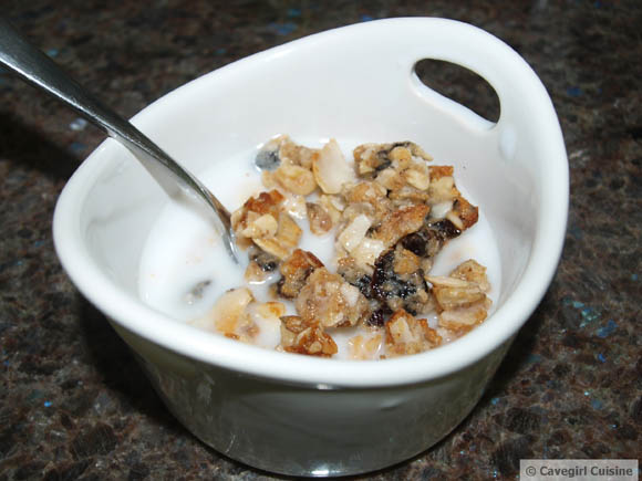 Honey Bunches of Paleo Cereal (grain-free)