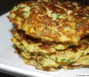 Zucchini and Yellow Squash Patties (paleo/gluten-free pancakes)