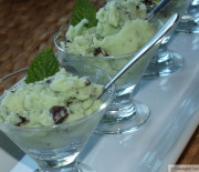 Mint Dark Chocolate Chip Ice Cream