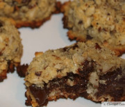 Hazelnut Chocolate Coconut Cookies
