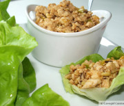 P.F. Paleo Chicken Lettuce Wraps