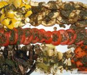 Roasted Veggies with Cilantro Vinaigrette