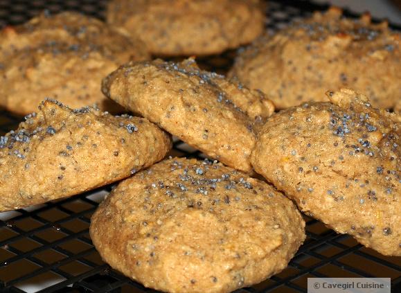 Lemon Poppy Seed Cookies -