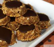 Pumpkin Kiss Cookies (paleo pumpkin cookies)