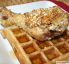 Chicken and Waffles (paleo/gluten-free)
