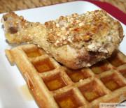 Chicken and Waffles (paleo/gluten-free)