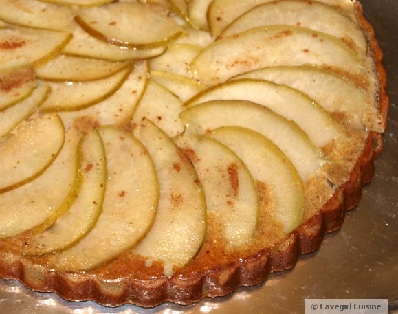 Maple Pear Tart (paleo pear tart)