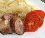 Brats and Sauerkraut