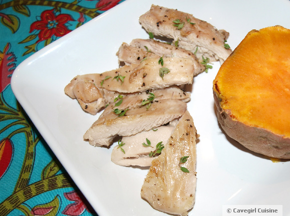 Chicken and a Sweet Potato