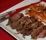 Korean Beef and Kimchi