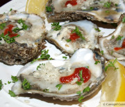 Raw Oysters (with fresh horseradish)