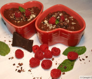 Choco Raspberry Pudding