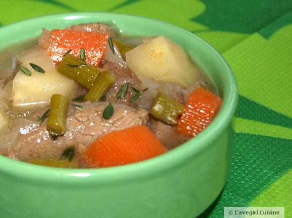 O'Cavegirl's Irish Stew