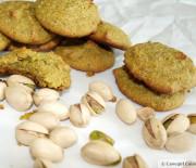 Tangerine Pistachio Cookies