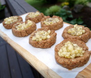Apple Pie Thumbprint Cookies (paleo apple pie cookies)