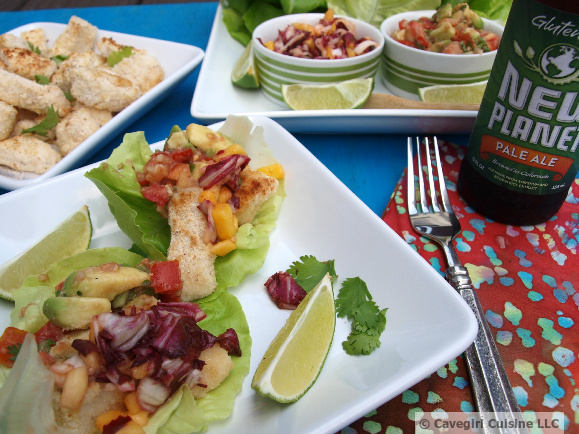 Baja Fish Taco Wraps