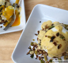 Crabcake Benedict with a Dijon Hollandaise