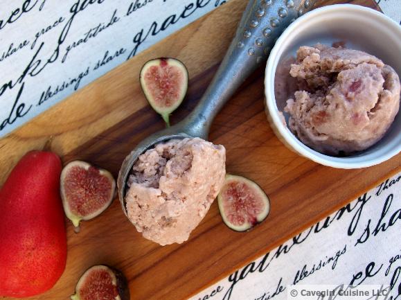 Fig & Pear Ice Cream