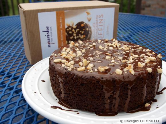 Nourishe Chocolate Ginger Macadamia Cake