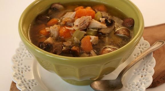 Sweet Potato and Turkey Stew
