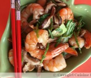 Shrimp & Samphire Stir-Fry