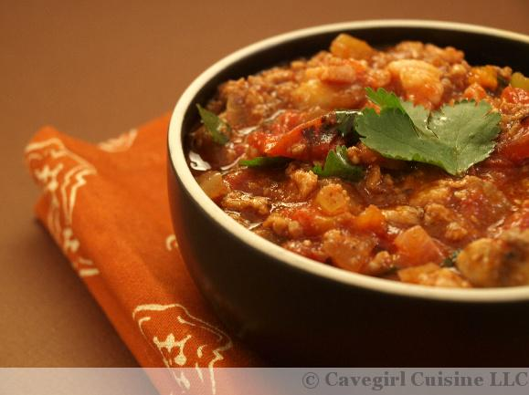 Meaty Beef and Pork Slow Cooker Chili