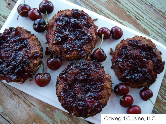 Homemade Paleo Cherry Tarts