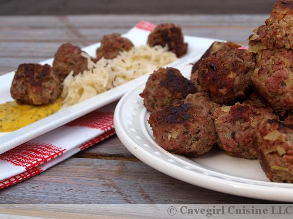 Reuben Meatballs