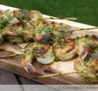 Shiso Shrimpy and Grilled!
