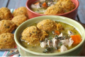 Chicken and Sweet Potato Dumplings