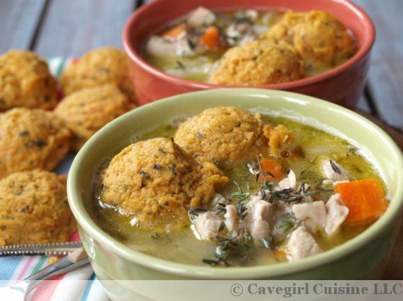 Chicken & Sweet Potato Dumplings
