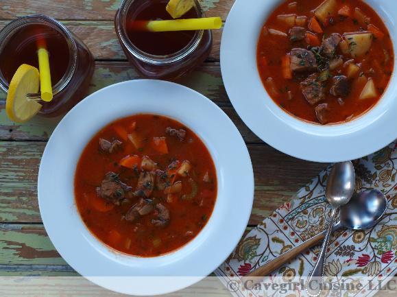 Homestyle Venison Stew