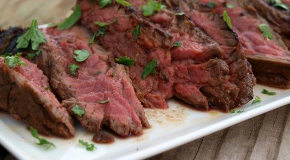 Marinated Flap Steak