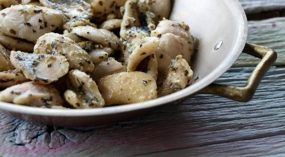 Sautéed Walleye Cheeks