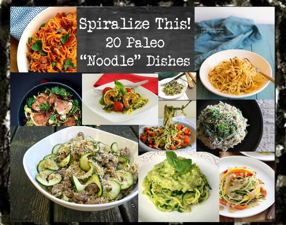 Spiralize This (paleo pasta)
