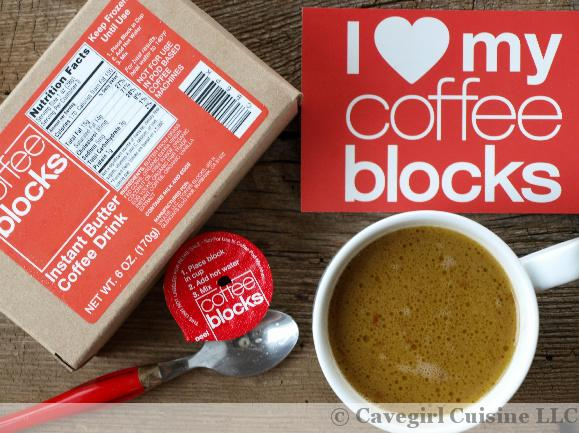 Coffee Blocks (Bulletproof Coffee)