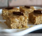 Pumpkin Bars with Caramel Drizzle (paleo)