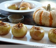 Stuffed & Baked Lady Apples (paleo stuffed apples)