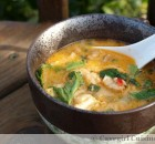 Spicy Thai Lobster Soup (Lobster Tom Kha)