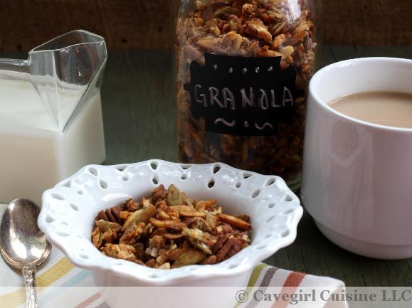 Granola ~ Paleo Eats