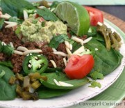 Simple Taco Salad (paleo & gluten-free)