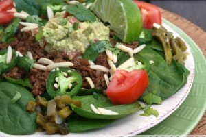 Simple Taco Salad (paleo & gluten-free)