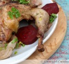 Simple Roast Pheasant with Red Wine
