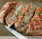 Homemade Meatloaf with a Sunchoke Surprise