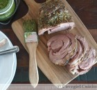 SousVide Lamb Shoulder with Hazelnut-Mint Pesto