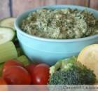 Creamy Artichoke Dip with Spinach (Nourish Cookbook)