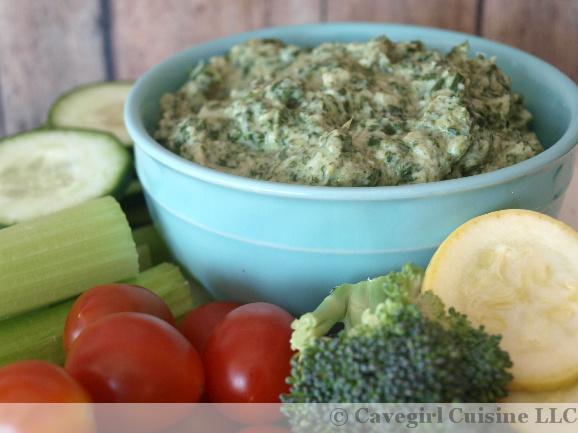 Creamy Artichoke Dip with Spinach