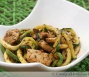 Chicken Pesto Zucchini (from One-Pot Paleo by Paleo Foodie Kitchen)