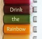 Drink the Rainbow ~ 5 Juicing Recipes