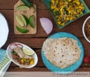 Island Pulled Pork Soft Tacos with Grilled Pineapple Salsa